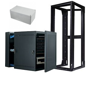 BOXES, ENCLOSURES & RACKS