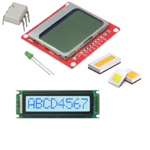 OPTO, LEDS & DISPLAYS
